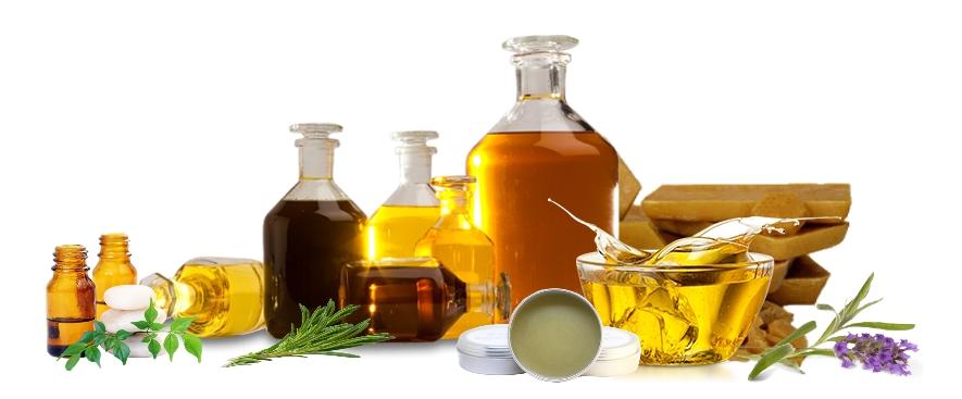oils wax herbs