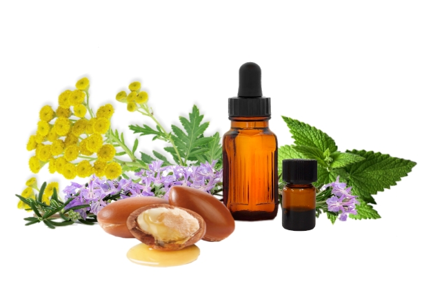 essential oils and argan